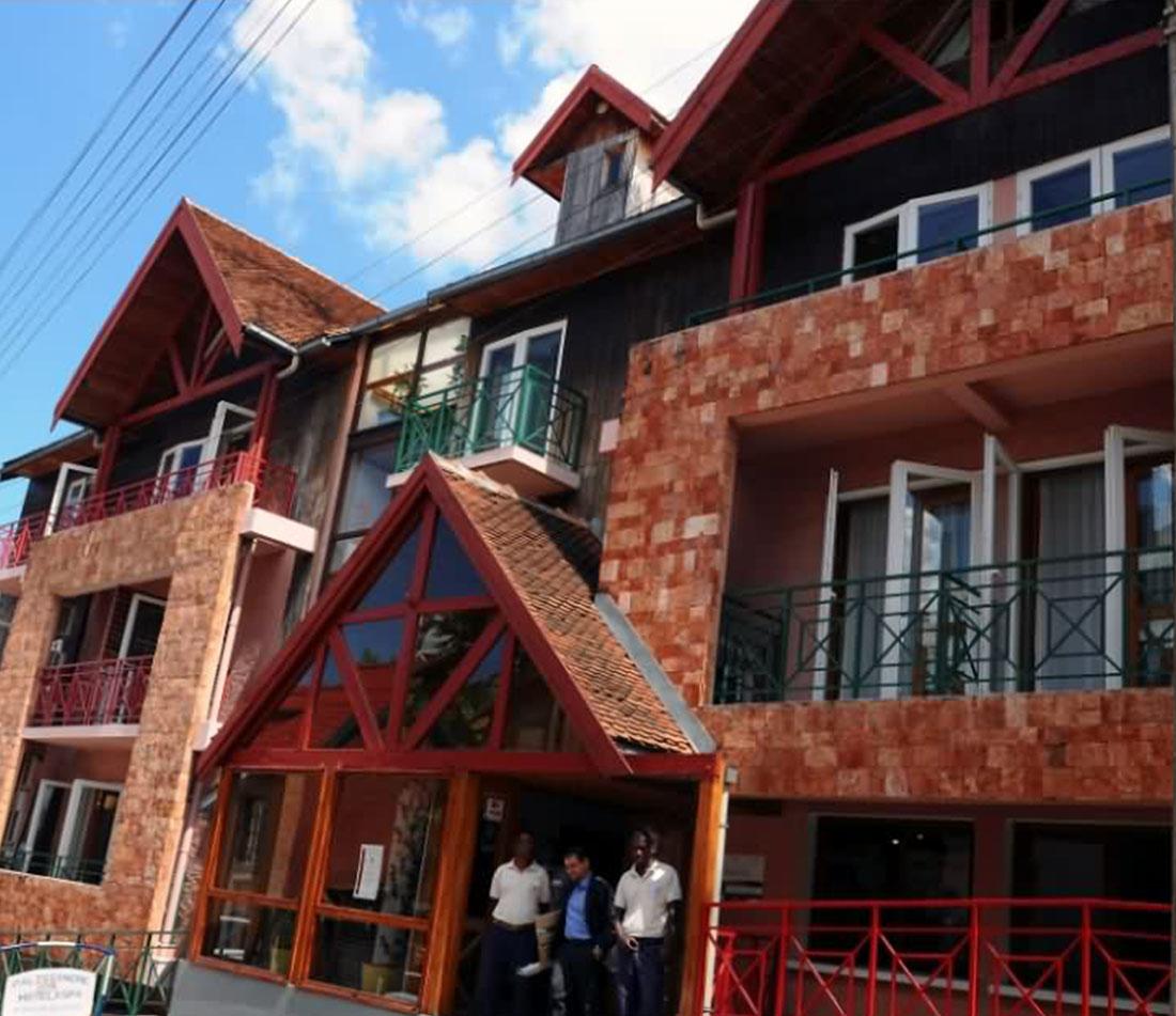 hôtel ROYAL PALISSANDRE de Tana