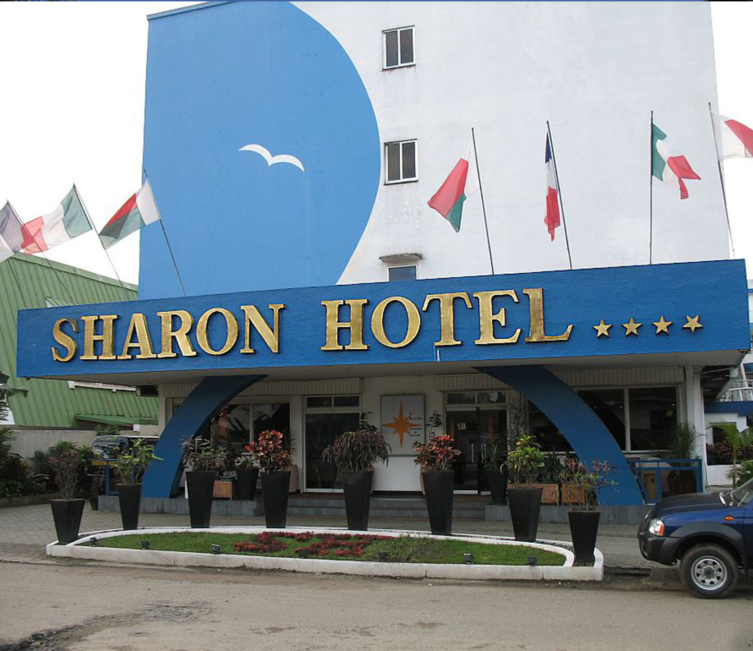 L'hôtel SHARONE