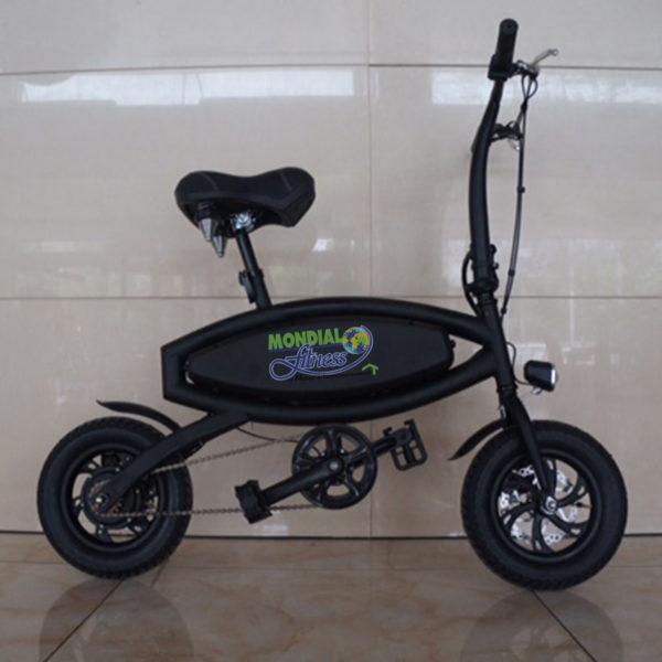 Vélo électrique de couleur  Noir